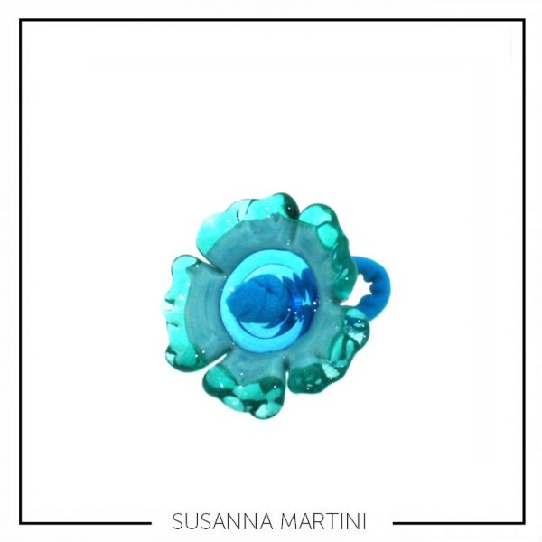ANELLO FLOWER TURCHESE SUSANNA MARTINI