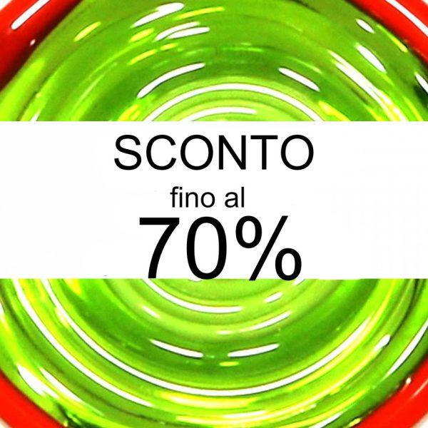 SCONTO FINO AL 70%