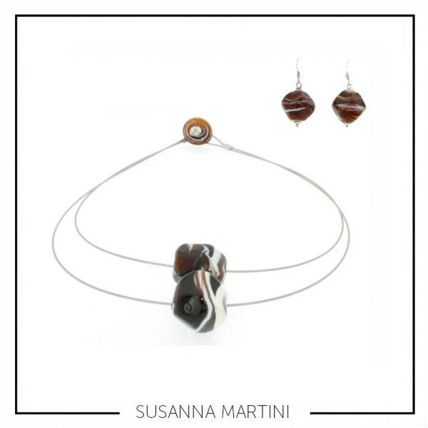 stone2 + orecchini caramel